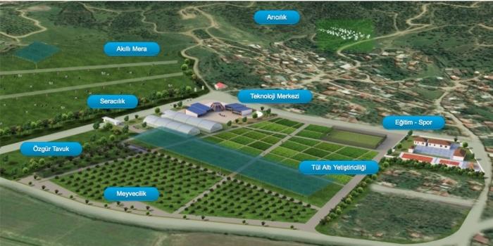 Türkiye'nin ilk teknoloji köyü kuruluyor