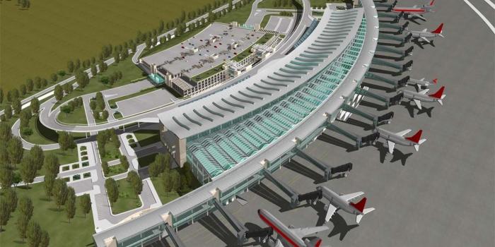 3. havalimanında kule inşaatı başladı