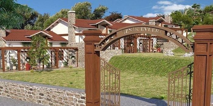 Çiftlik Evleri İznik'te yükseliyor