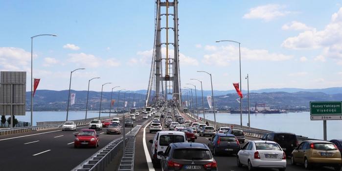 Körfez Köprüsü'nde riskli hesap