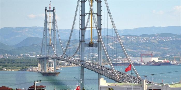 Osmangazi Köprüsü'nde Bayram sonrası tarifesi başladı