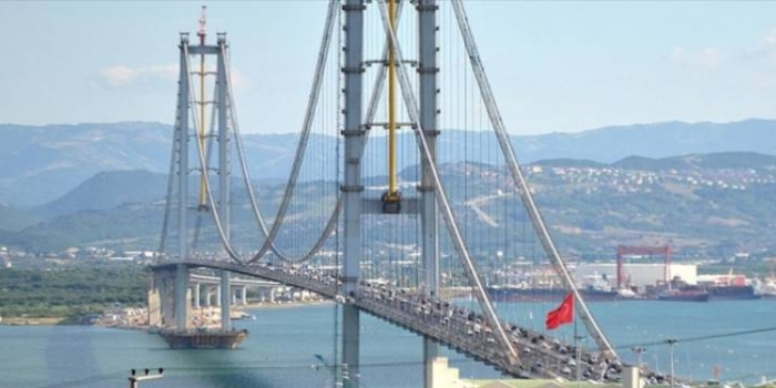 Osmangazi Köprüsü'nde geçişler dibe vurdu