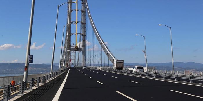 Osmangazi Köprüsü'nün yükü sanıldığından daha ağır