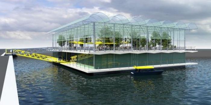 Hollanda'ya yüzen çiftlik yapılacak