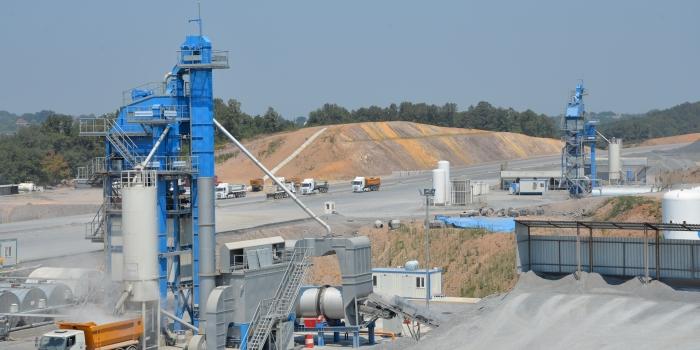 3. Köprü ve bağlantı yolları için dev asfalt üretimi