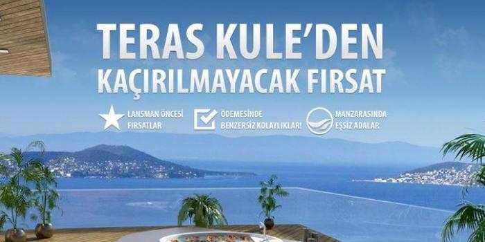DAP Teras Kule'de lansman öncesi satışlar başladı
