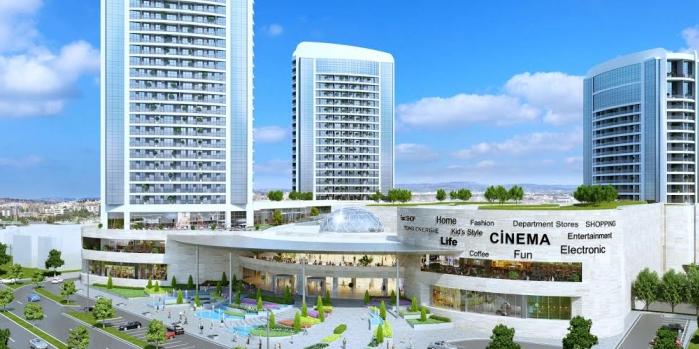 Sur yapı marka rezidans ve alışveriş merkezi