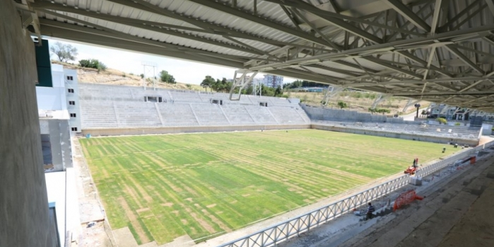 Nilüfer'e çevre dostu stadyum