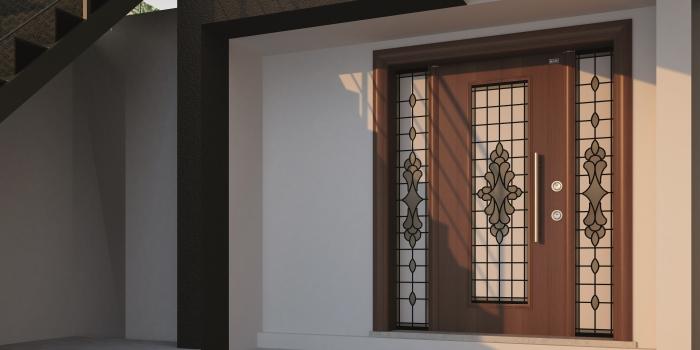 Sur çelik kapı glasscom