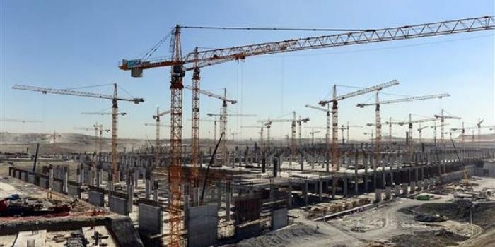 3. Havalimanı inşaatı tüm hızıyla sürüyor