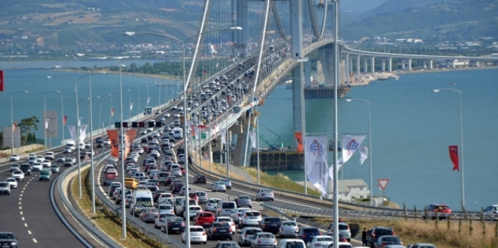 Bakan Arslan açıkladı: Osmangazi'den geçen araç sayısı...