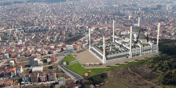 Çamlıca Camii'ne yolcu taşıyacak proje iptal edildi