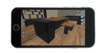 Mod Tasarım sanal gerçeklik gözlüğü ile ofisinizi tasarlayın