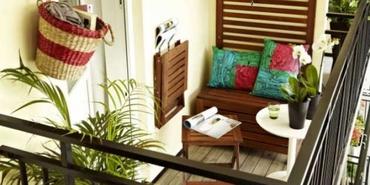 Küçük balkon tasarım önerileri