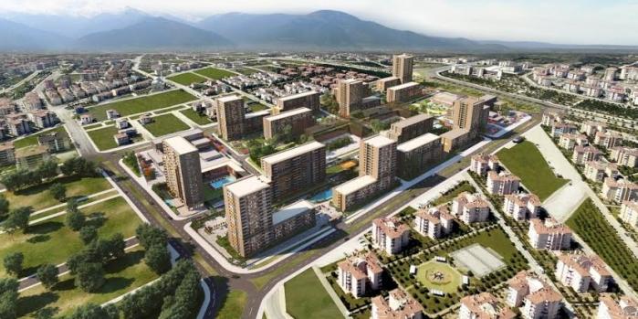 Evora Denizli'de ilk etap satışları başladı