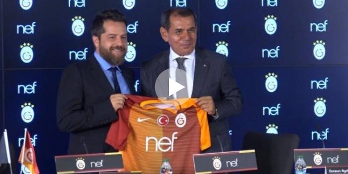 Galatasaray Nef ile anlaştı: 3 sezona 52.5 milyon TL