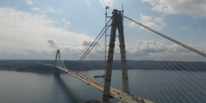 Yavuz Sultan Selim Köprüsü 10 gün içinde bitecek
