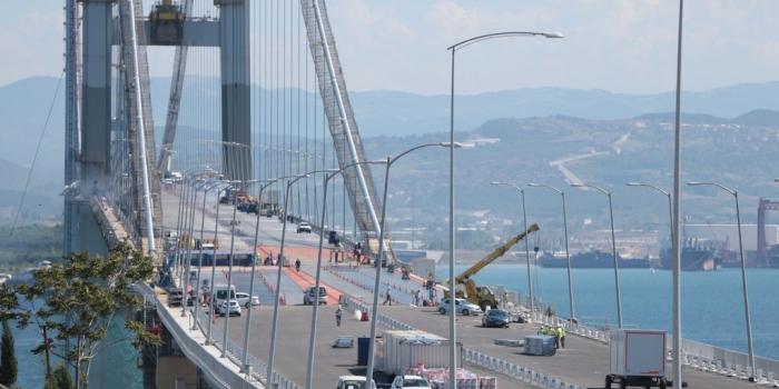 Osmangazi Köprüsü geçen araç sayısı