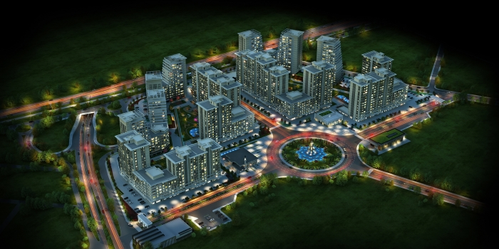 Temaşehir Konya'nın birinci etabı satışta