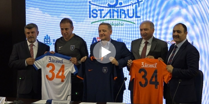 3. İstanbul Başakşehir'e sponsor oldu