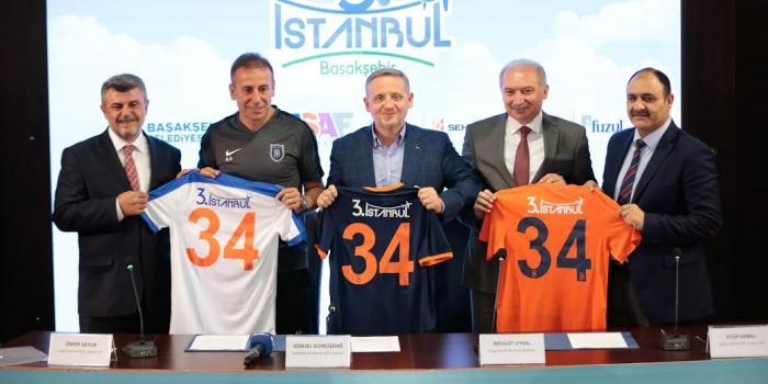 3. İstanbul projesi Başakşehir'e sponsor oldu