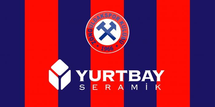 Yurtbay Seramik Zonguldak Kömürspor'un forma sponsoru oldu