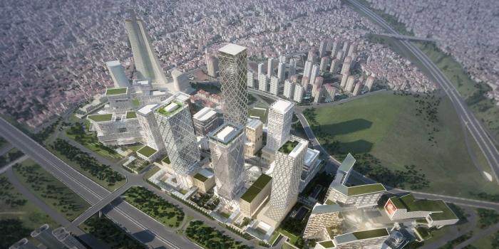İstanbul finans merkezi yeşil bina