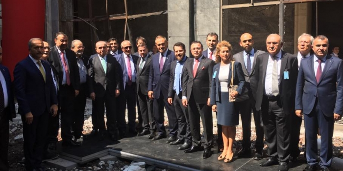 GYODER Meclis binasının onarımı için 50 milyon ayırdı