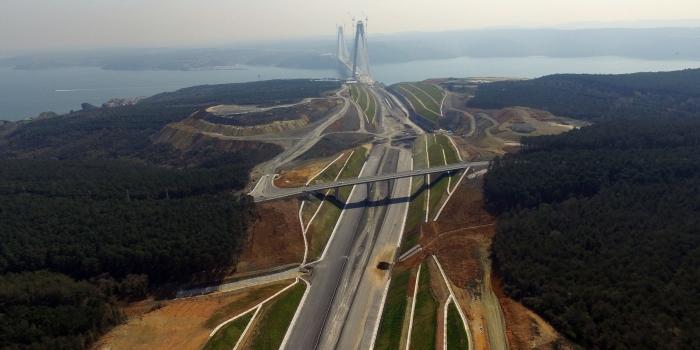 Kuzey Marmara Otoyolu projesinde seferberlik