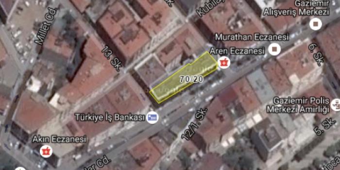 Gaziemir Belediyesi'nden satılık işyeri