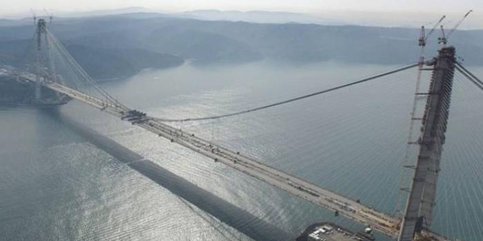 Yavuz Sultan Selim Köprüsü'ne Fibrobeton katkısı