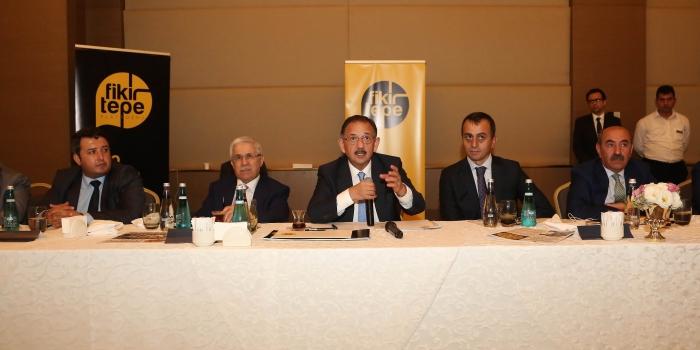 Bakan Mehmet Özhaseki: Fikirtepe iki yıl içinde tamamlanmak zorunda