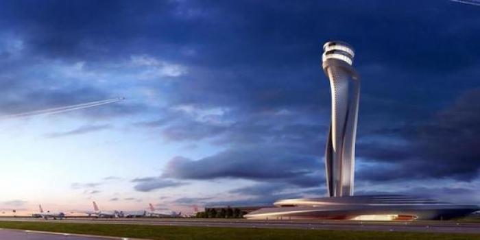 İstanbul 3.havalimanı hava trafik kontrol kulesi