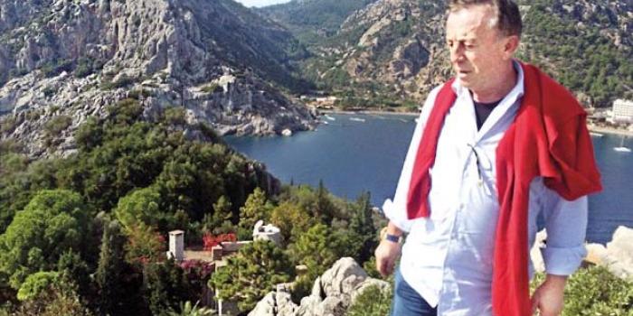 Ali Ağaoğlu kendi çiftliğini kurdu