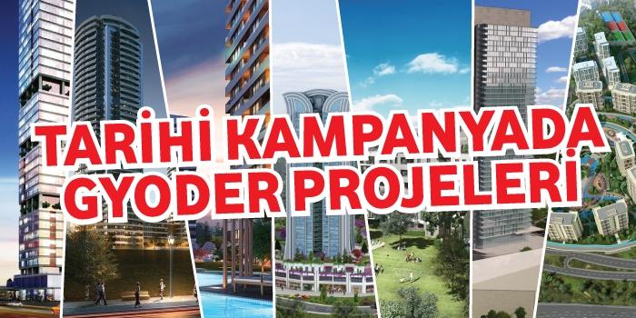 GYODER kampanyası kapsamındaki projeler
