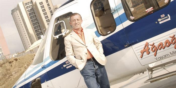 Ağaoğlunun helikopteri