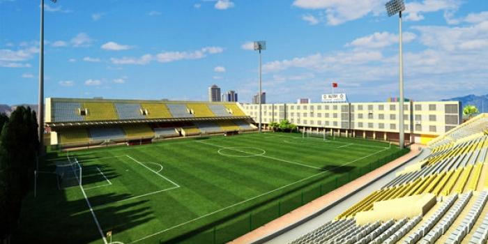 Alsancak Stadı yenileniyor