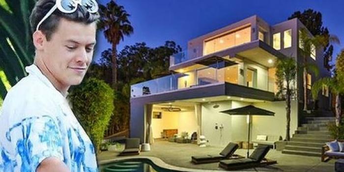 Harry Styles'ın Hollywood'daki malikanesi görenleri büyülüyor