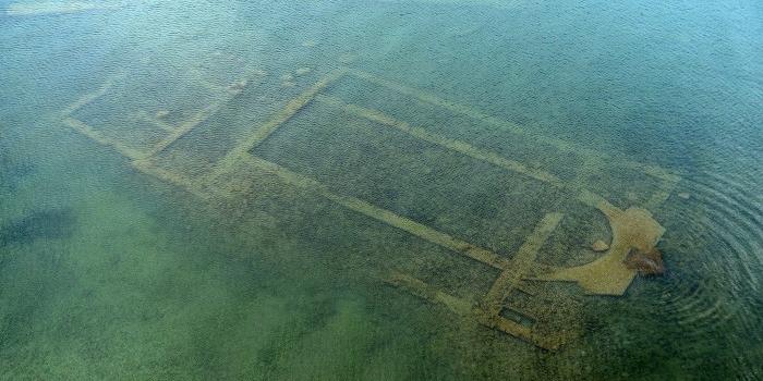 İznik Gölü'nün sularına gömülü Hristiyan yapısı ziyarete açılıyor