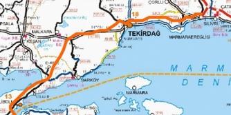 Tekirdağ Çanakkale Balıkesir Otoyolu güzergahı belli oldu