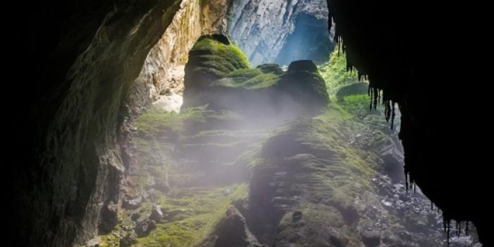 Bu mağaranın içine 40 katlı gökdelen sığıyor