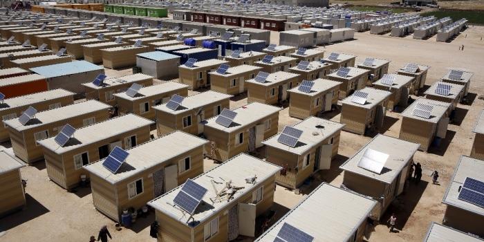 Cumhurbaşkanı'ndan güvenli bölgede mültecilere konut önerisi