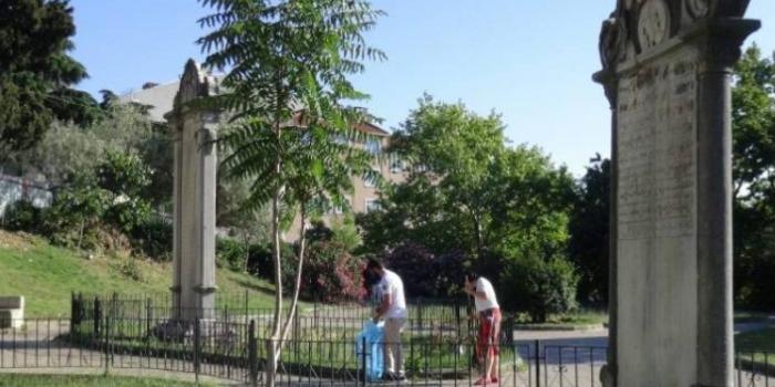 Ihlamur Parkı'na yapılacak bina için ilan asıldı