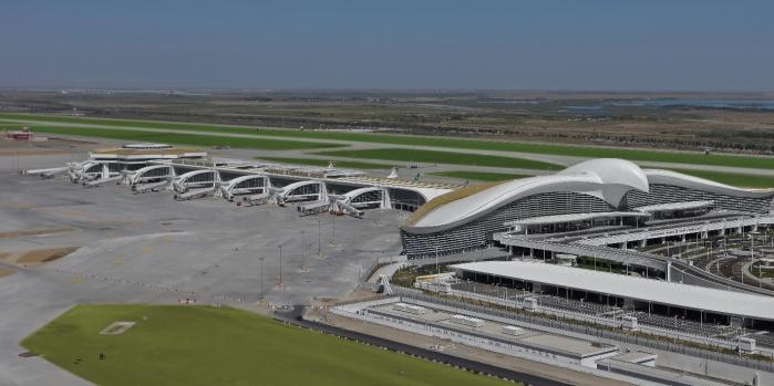 Polimeks'in yapımını üstlendiği Aşkabat Uluslararası Havalimanı hizmete açıldı