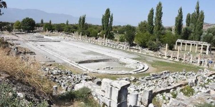 Afrodisias'ın dev havuzu bulundu