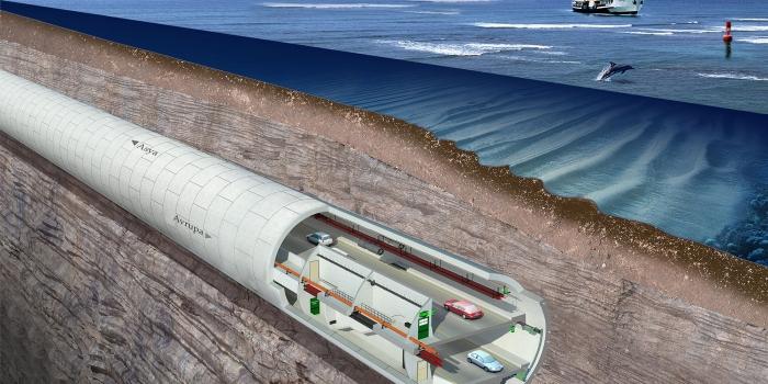 Avrasya Tüneli geçiş ücreti 4 dolar+KDV