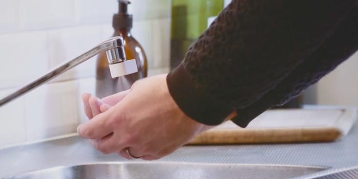 Bu musluk ağzı yüzde 98 oranında su tasarrufu sağlıyor