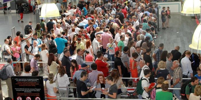 Havalimanlarında bayram rekoru: 3 milyon yolcu