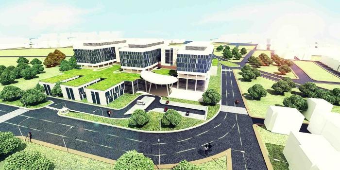 Sultan Gazi Hastanesi'ne Ekin Endüstriyel imzası
