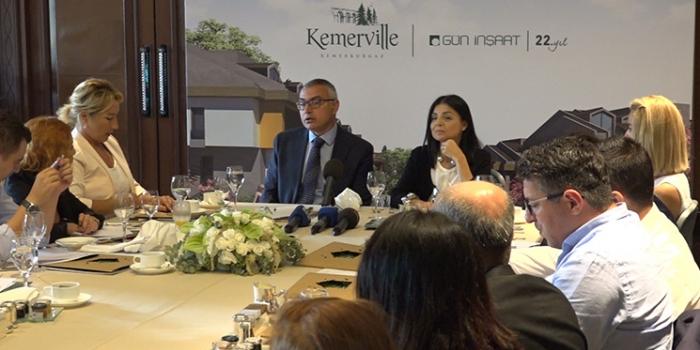 Kemerville projesi satışa çıktı